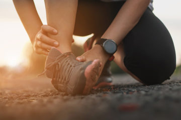 mobilité de la cheville et effets croisés